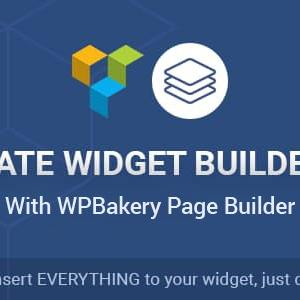 JUAL Ultimate Widget Builder Pro with WPBakery Page Builder