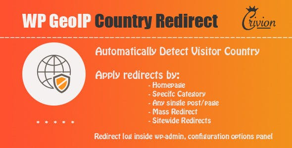 JUAL WP GeoIP Country Redirect