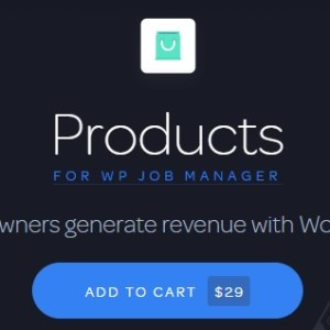 JUAL WP Job Manager Products Add-on