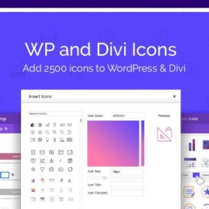 JUAL WP and Divi Icons Pro