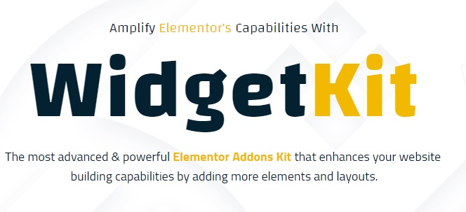 JUAL WidgetKit Pro - Huge Collection of Pro Quality Element For Elementor