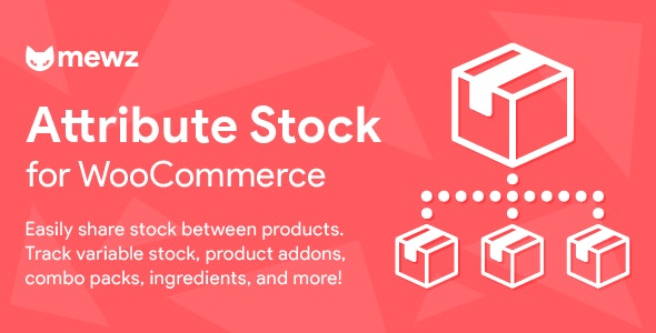 JUAL WooCommerce Attribute Stock - Share Stock Between Products