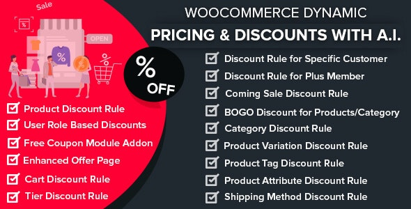 JUAL WooCommerce Dynamic Pricing & Discounts with AI
