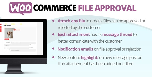 JUAL WooCommerce File Approval