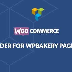 JUAL WooCommerce Page Builder For WPBakery Page Builder