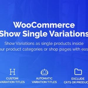 JUAL WooCommerce Show Variations as Single Products