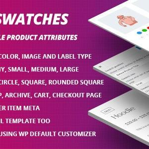 JUAL WooCommerce Swatches ( Color