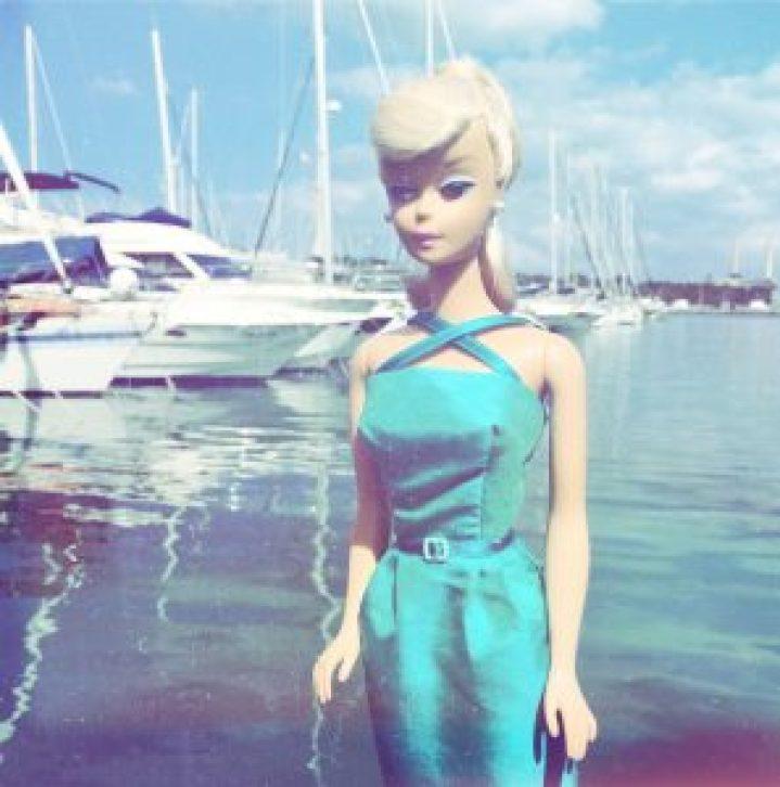 Barbie Clothes vintage style dress