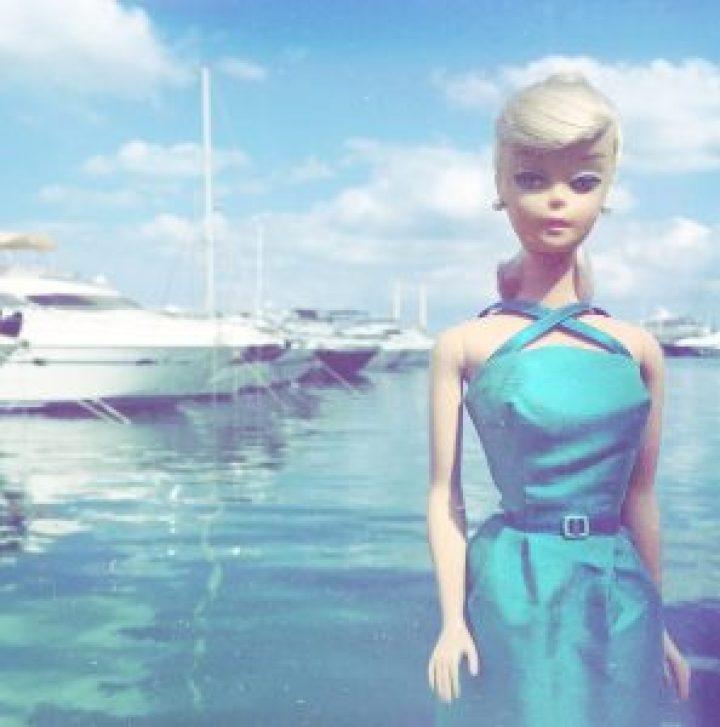 Barbie dress vintage style