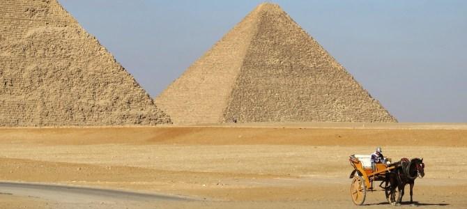 Día 12, Pirámides de Giza
