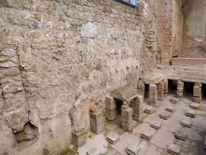 Termas Stabiones - Pompeya
