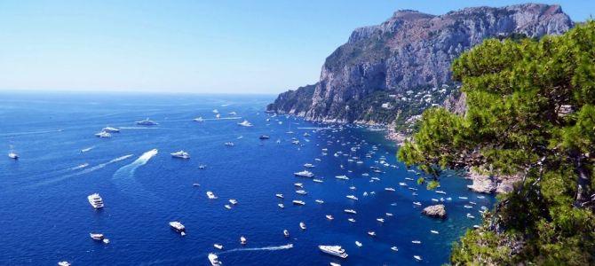 Capri paseo en barco