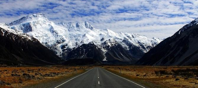 Viaje a las Antipodas, Circuito por Nueva Zelanda e Islas Cook