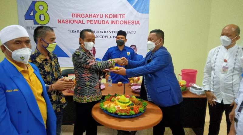 Rayakan HUT Ke-48, Ketua DPD KNPI Banten Satukan Pemuda