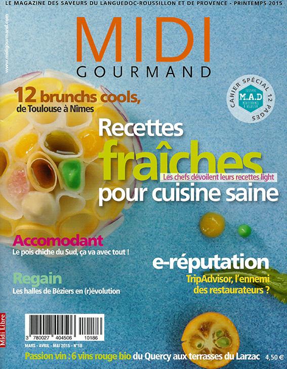 Midi Gourmand   Απρίλιος/Μάϊος/Ιούνιος 2015