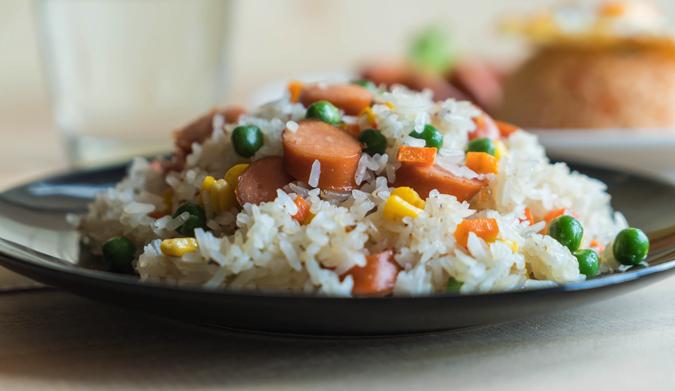 Μάθε το σωστό ρύζι για σπυρωτό πιλάφι