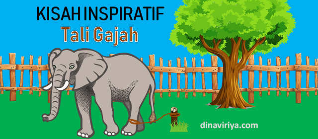 Kisah Inspiratif - Seutas Tali Gajah (sebuah kepercayaan)