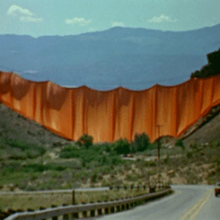 Christo's Valley Curtain | Film Review