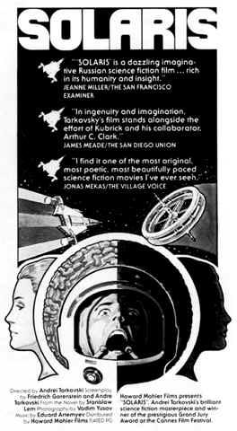 Solaris Poster United States