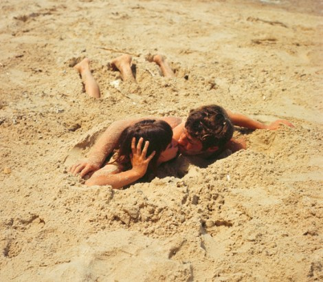 pierrot le fou art and you Jean-paul belmondo and anna karina , pierrot le fou , art house girls on the beach: anna karina, beach with belemondo, pierrot le fou  from fipinterestcom.