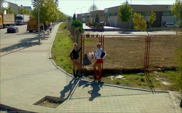 9-eyes Google Street Views art project by Jon Rafman