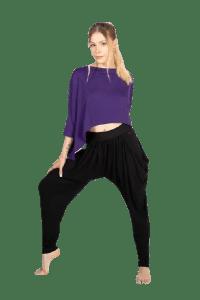 Harem Pants With Hidden Shorts