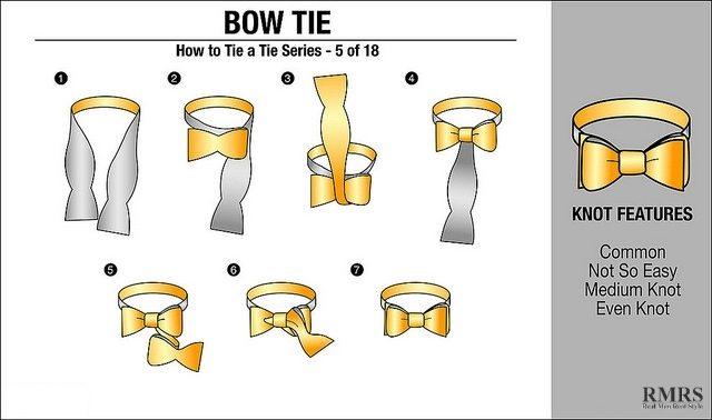 tutorial cara memakai dasi bow tie pita mudah dan praktis
