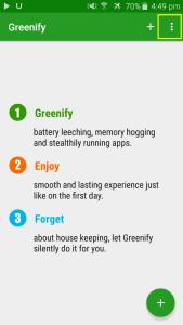 aplikasi greenify untuk menonaktifkan aplikasi whatsapp
