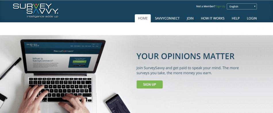 survey savvy website situs penghasil uang yang menghasilkan dolar melalui paypal