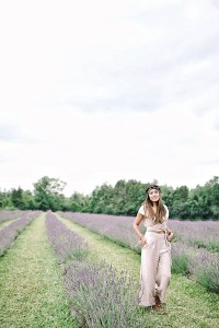 Comfy jumpsuit for our trip to the lavender field