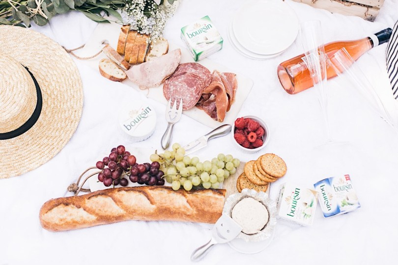 Our picnic spread could not get any better than this