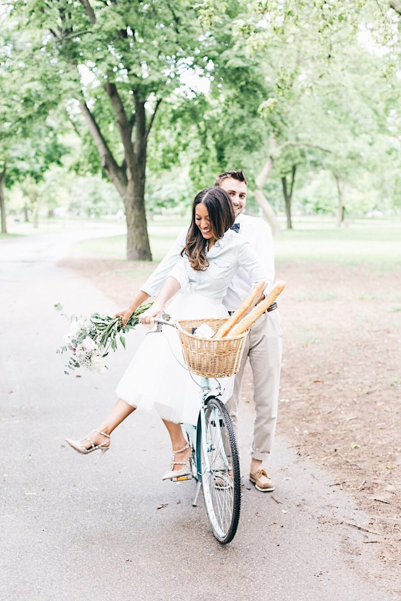 photo of me and my husband on a bike