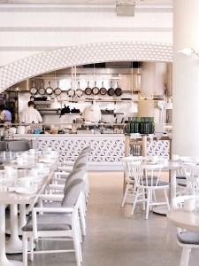 Figo restaurant interior