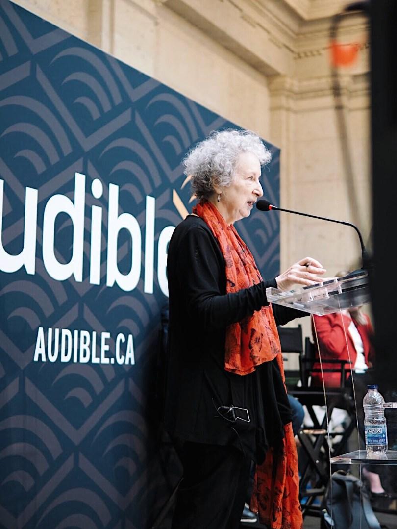 Margaret Atwood reading