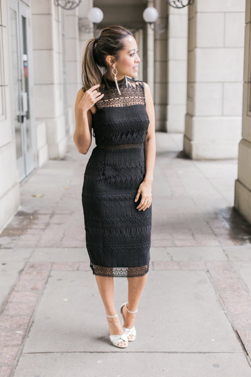 Front view of Ever New dress