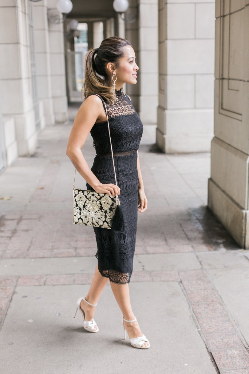 Sequin purse