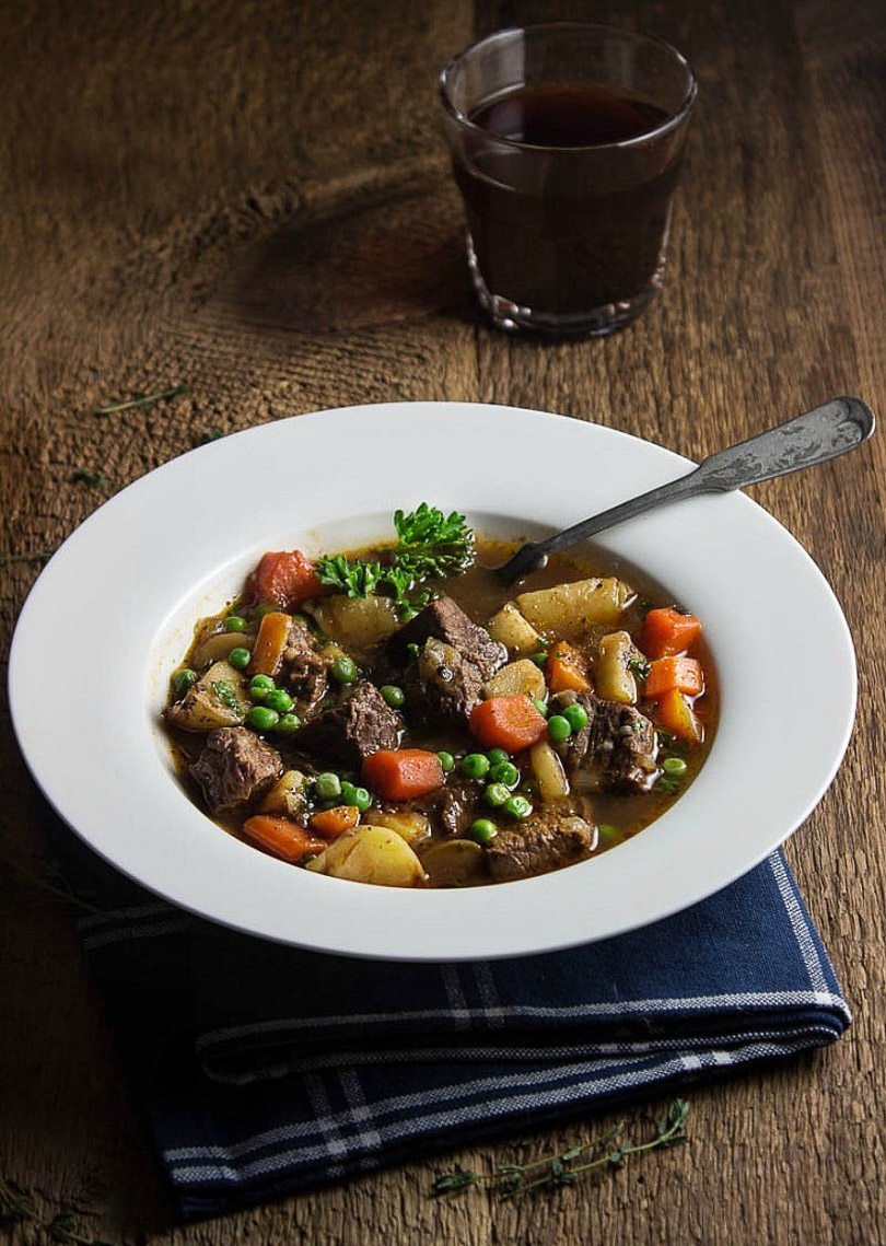 roasted garlic beef stew by simply fresh dinners