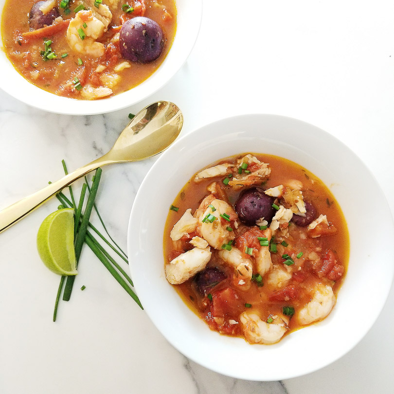 shrimp & cod stew by chew street
