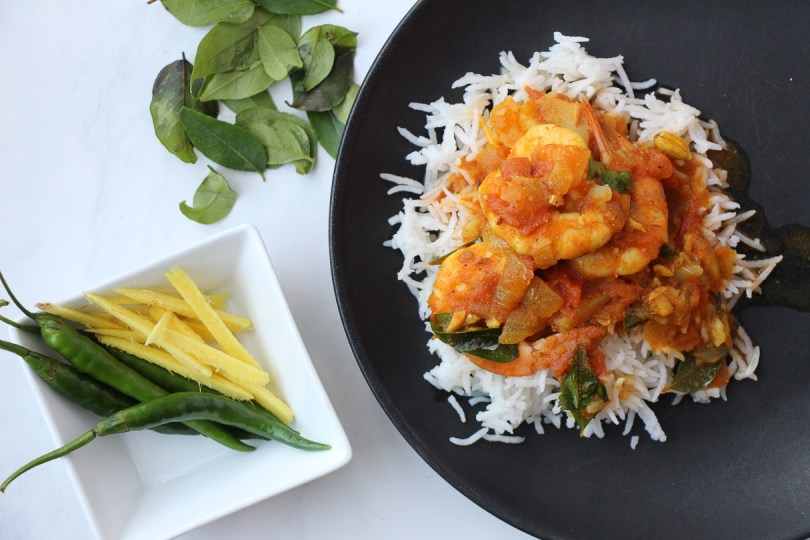 bombay shrimp curry by angelie sood