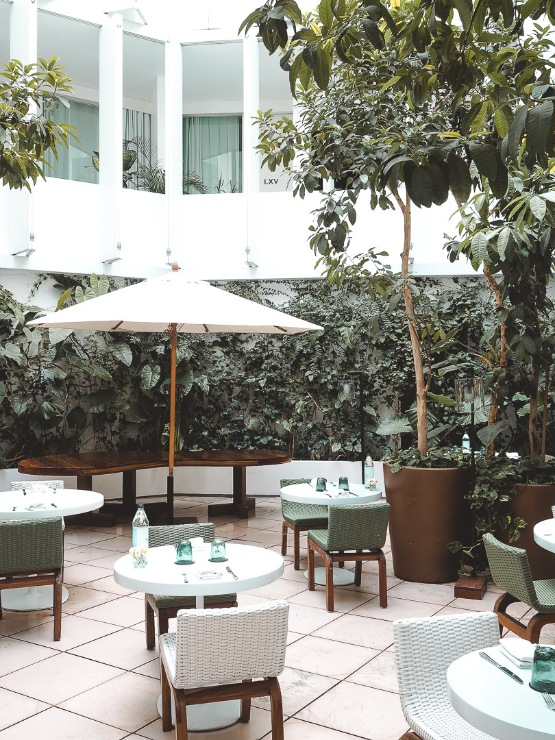Courtyard at Condesa DF