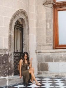 Queen of the Castillo de Chapultepec