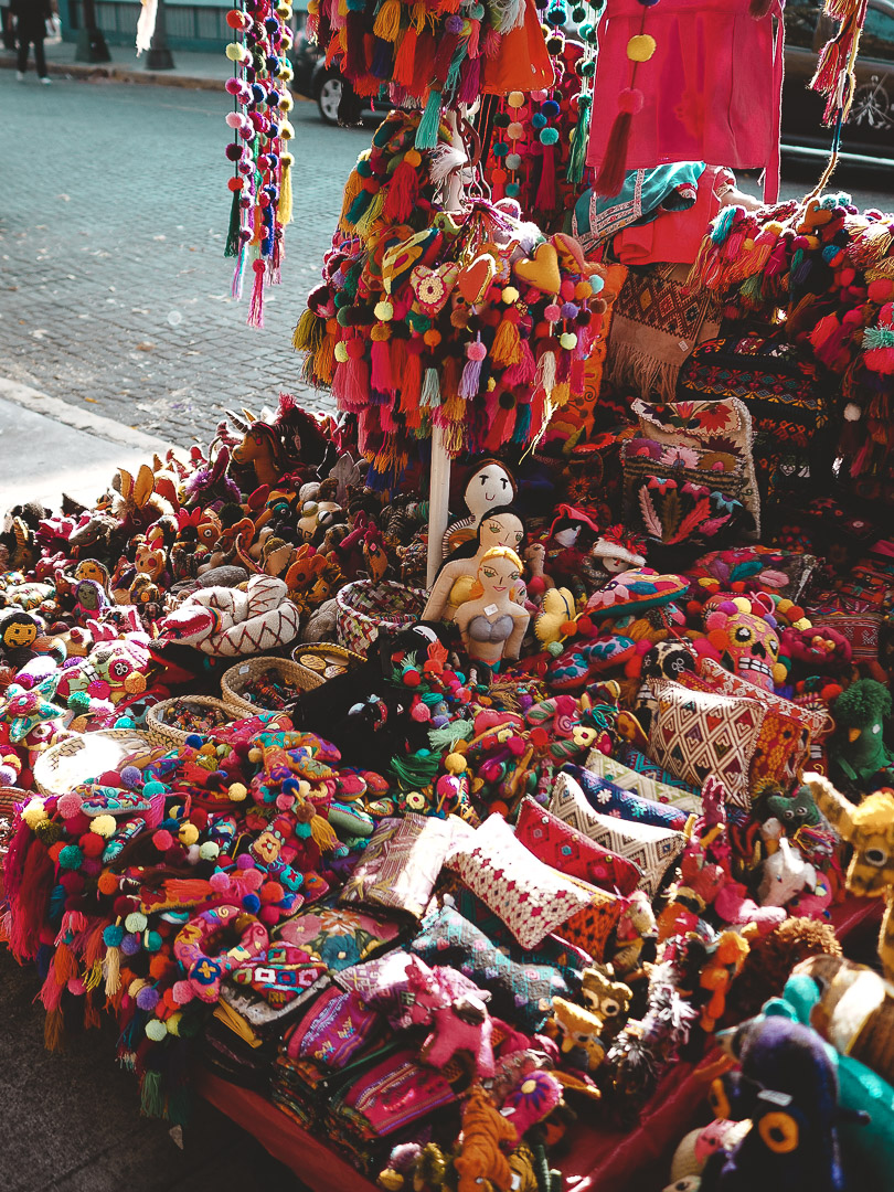 Dolls at market in Coyoacan