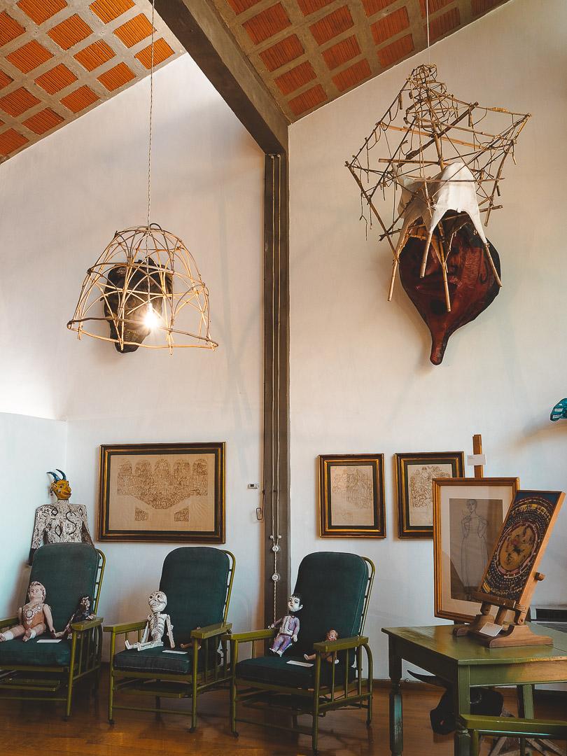 Inside Diego Rivera's Studio