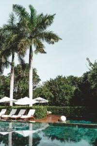 Zen pool area