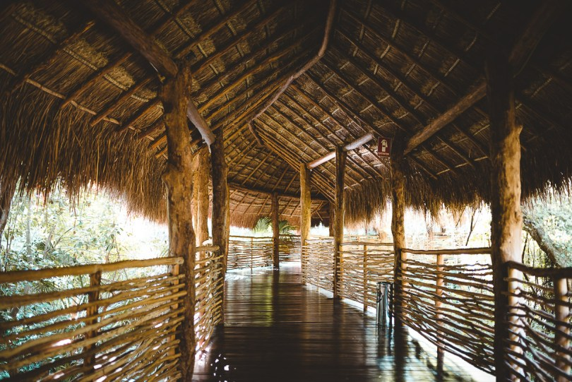 Beautiful walkway at Zen section of Grand Velas