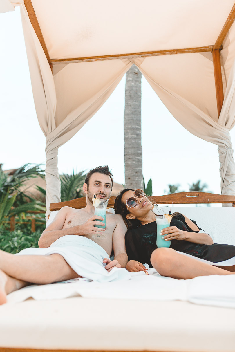 Relaxing at Grand Velas Riviera Maya