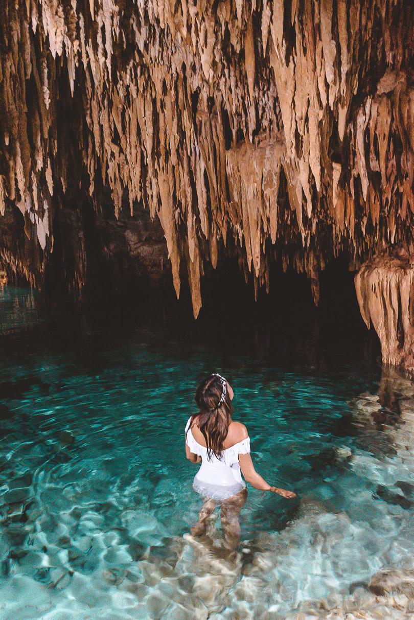 Sanctuario de los Guerreros cenote