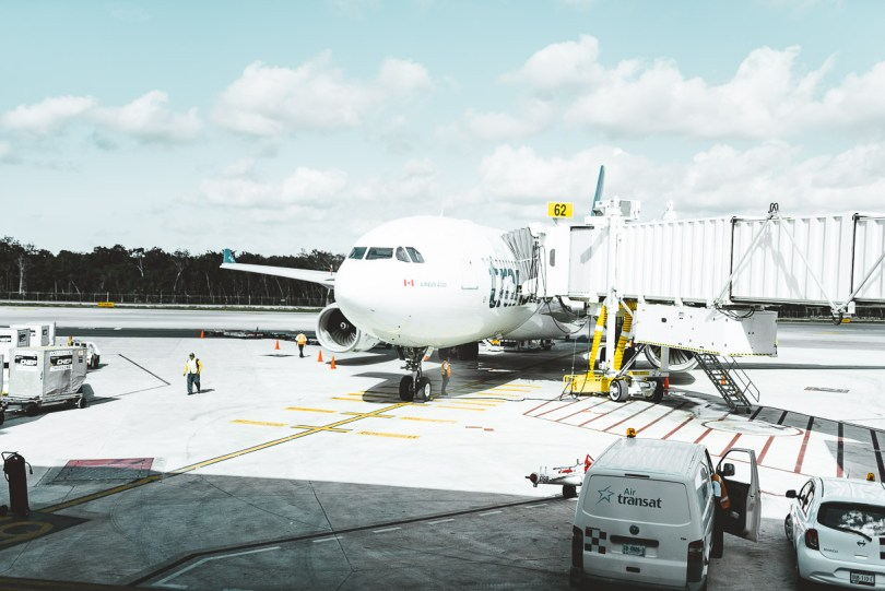 Flying to Mexico with Air Transat