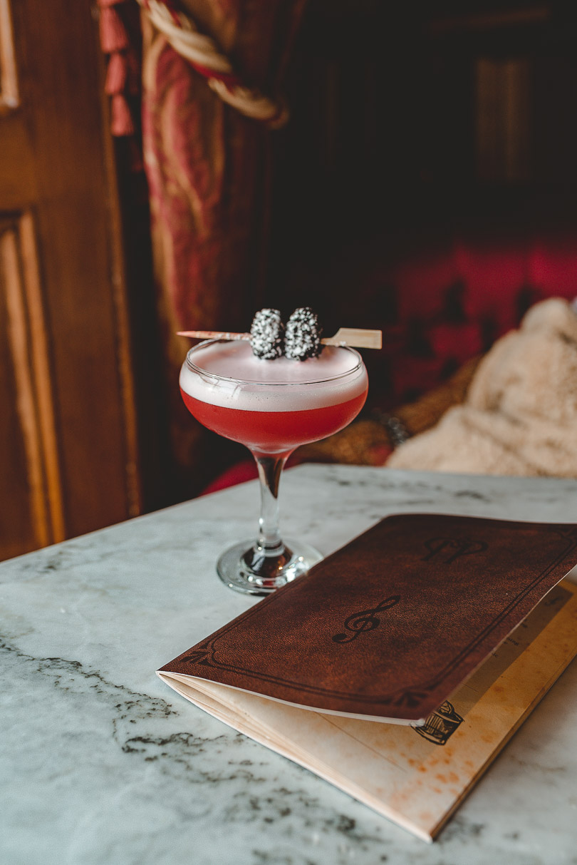 """Little Red Corvette"" cocktail at Peruke & Periwig Dublin"