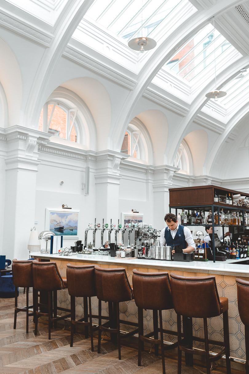 Titanic Hotel Restaurant in Belfast